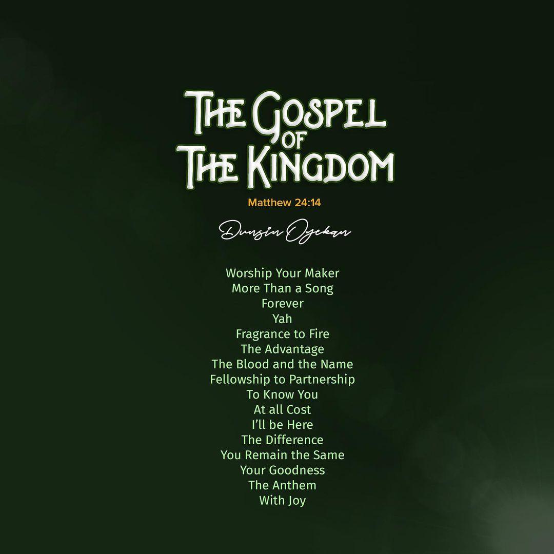 the gospel of the kingdom - dunsin oyekan
